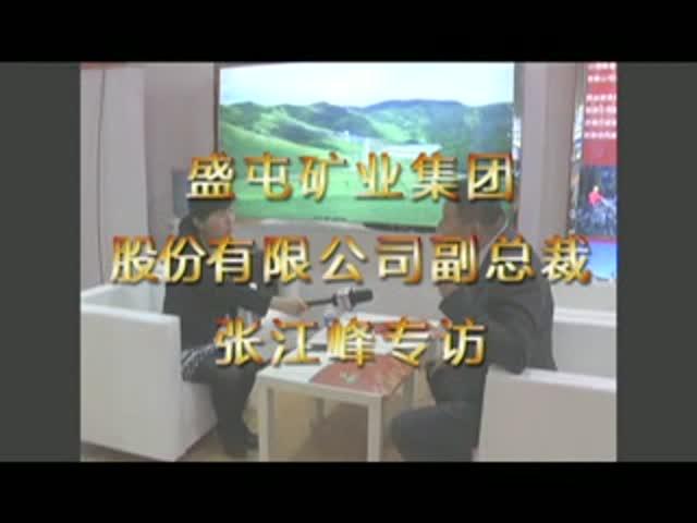 盛屯矿业集团股份有限公司副总裁张江峰专访